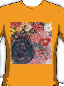 Flowers in Slate Vase T-Shirt