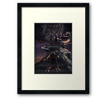 Castlevania: Simon Belmont Framed Print