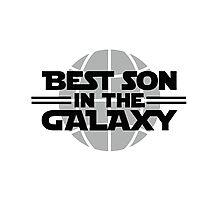 Best Son In The Galaxy Photographic Print