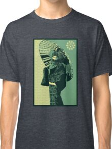 ASIAN WOMAN-GREEN VERSION Classic T-Shirt