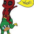 Yee Haw Deadpool! by MoparPhoenix