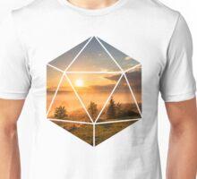 D20 - Sunset Unisex T-Shirt