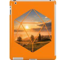 D20 - Sunset iPad Case/Skin