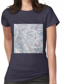 Marbled Womens Fitted T-Shirt