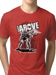 From Above -Graf 01 Tri-blend T-Shirt