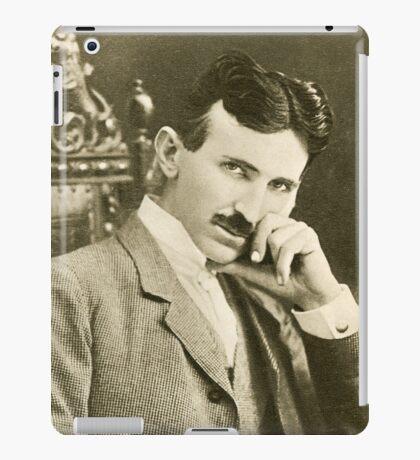 Nikola Tesla, Serbian-American Inventor iPad Case/Skin