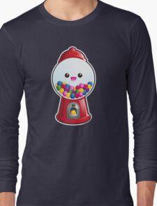 Kawaii Gum Ball Machine Long Sleeve T-Shirt