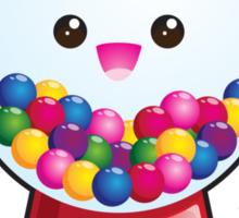 Kawaii Gum Ball Machine Sticker