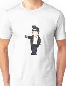 cartoon cool guy Unisex T-Shirt