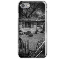 Le Jardin de Vincent Black and White iPhone Case/Skin