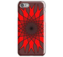 Bachelor Buttons Red Flowers iPhone Case/Skin