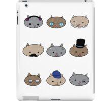 Cat Heads iPad Case/Skin