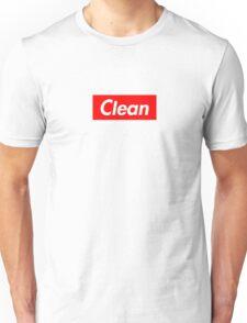 Clean - Supreme font Unisex T-Shirt