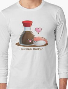 Soy Happy Together Long Sleeve T-Shirt