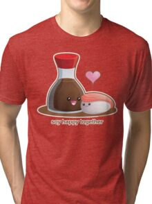 Soy Happy Together Tri-blend T-Shirt