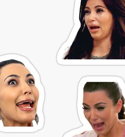 Kim Kardashian Sticker Sticker