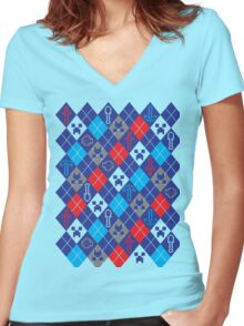 Ugly Craft Women's Fitted V-Neck T-Shirt