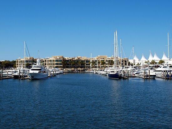 Mariner's Cove Marina by Wayne  Nixon  (W E NIXON PHOTOGRAPHY)