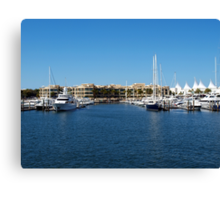 Mariner's Cove Marina Canvas Print