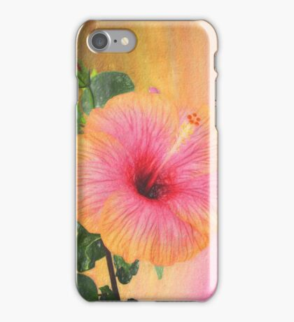 Beautiful textured flower iPhone Case/Skin