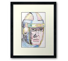 80s hero Framed Print