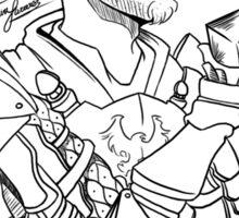 DADC #2 - Grey Warden Alistair Sticker