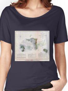 Vintage Cedar Key Islands Florida Coast Women's Relaxed Fit T-Shirt