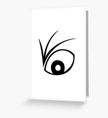 A Series of Unfortunate Events Eye Greeting Card