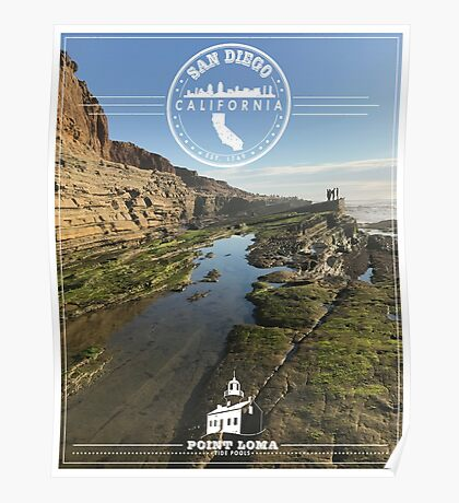 San Diego Tide Pools Poster