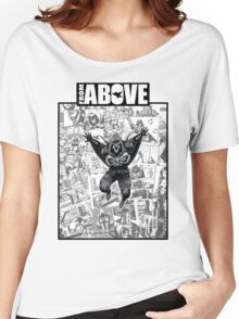 From Above Comic Book 05 Women's Relaxed Fit T-Shirt