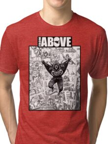 From Above Comic Book 05 Tri-blend T-Shirt
