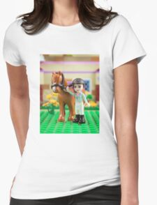 Mia with her horse T-Shirt