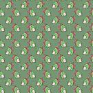 Bucktooth Dinosaur Pattern by SaradaBoru