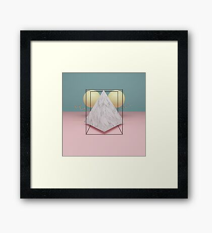 Postmodern bird Framed Print