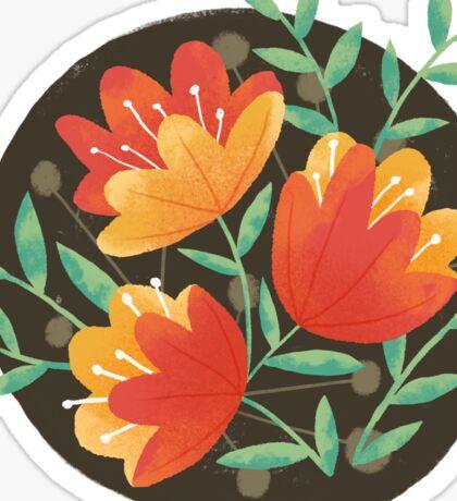 Afternoon Blooms Sticker