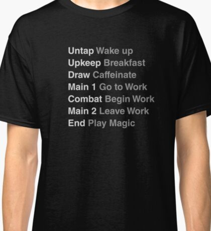 Magic the Gathering - Phases of Life Classic T-Shirt