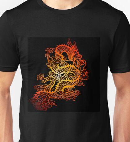 fiery dragon Unisex T-Shirt
