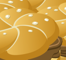 Wetdryvac Presents Glitch: Food hearty groddle sammich Sticker