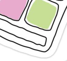 Eye shadow sticker - hand drawn doodle style Sticker