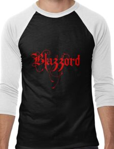 Blazzord - Red Logo Men's Baseball ¾ T-Shirt
