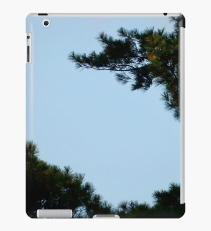 Pine Trees & Blue Skies - Nature iPad Case/Skin