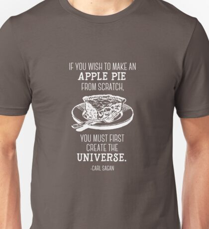 The science of apple pie Unisex T-Shirt