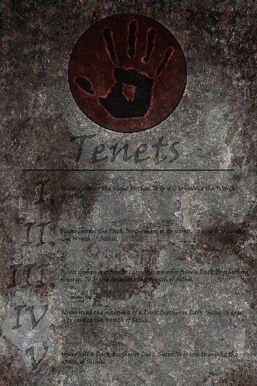 Dark Brotherhood's 5 Tenets by LynchMob1009
