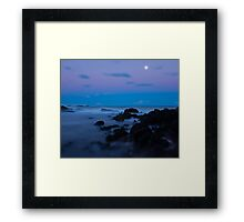 Blue Hour Framed Print
