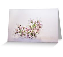 Cilantro flower Greeting Card