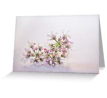 Cilantro flower Greeting Card