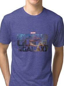 Hitchhiker's Guide To The Galaxy | Adams Classic Sci-Fi Novel Tri-blend T-Shirt