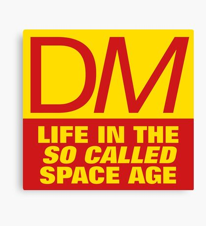 DM Life in the so called Space Age Canvas Print