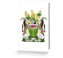 Rhodesian Coat of Arms Greeting Card