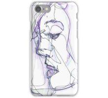 Cecelia Semi-Blind Contour iPhone Case/Skin